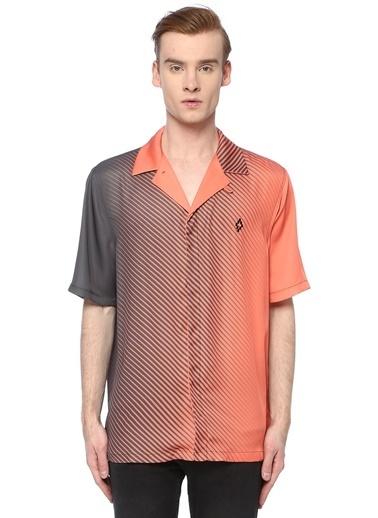 Marcelo Burlon Gömlek Oranj